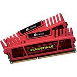 8GB Corsair Vengeance rot DDR3-1600 DIMM CL7 Dual Kit
