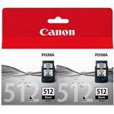 Canon Tinte PG-512 2er-Pack 2969B010 schwarz