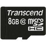 8 GB Transcend Extreme-Speed microSDHC Class 10 Bulk