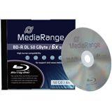 MediaRange BD-R DL 50 GB 1er Pack (MR506)