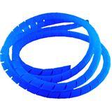 Bitspower 1m blaue UV Spiral Kabelhülle für Kabel