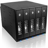 """ICY BOX IB-545SSK 5fach SAS/SATA Wechselrahmen für 3.5"""""""