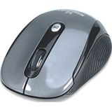Manhattan Performance Wireless Optical Mouse USB schwarz/grau