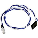 LAMPTRON 5mm weiße LED mit Anschlusskabel für 3-Pin Molex