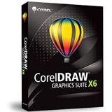 Corel CorelDraw Graphics Suite X6 32/64 Bit Deutsch Grafik FPP PC