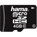 4 GB Hama Standard microSDHC Class 6 Retail