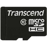 32 GB Transcend microSDHC Class 10 Retail inkl. Adapter