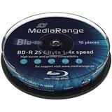 MediaRange 25 GB BD-R 10er bedruckbar (MR499)
