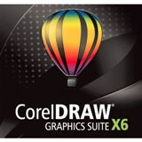 Corel CorelDraw Graphics Suite X6 Multilingual nur Datenträger PC (DVD)