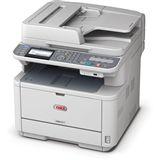 OKI MB451 S/W Laser Drucken/Scannen/Kopieren/Faxen LAN/USB 2.0