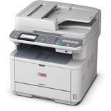 OKI MB491 S/W Laser Drucken/Scannen/Kopieren/Faxen LAN/USB 2.0/WLAN
