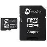 32 GB Memorystar SDHC Class 4 Bulk inkl. Adapter