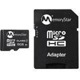 16 GB Memorystar SDHC Class 4 Bulk inkl. Adapter