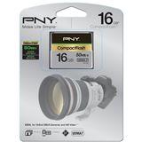 16 GB PNY Pro Elite SDHC 800x Bulk