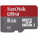 8 GB SanDisk Mobile Ultra microSDHC Class 10 Bulk inkl. Adapter auf SD
