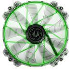 BitFenix Spectre Pro LED grün 200x200x25mm 900 U/min 27.5dB(A schwarz/transparent