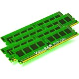 16GB Kingston ValueRAM Intel DDR3-1600 regECC DIMM CL11 Quad Kit