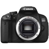 Canon EOS 650D Gehäuse 18 Mpix CMOS, Full HD, 7,7cm touch LCD