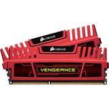 16GB Corsair Vengeance rot DDR3-1600 DIMM CL10 Dual Kit