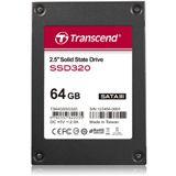 """64GB Transcend SSD320 2.5"""" (6.4cm) SATA 6Gb/s MLC Toggle"""