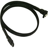 Nanoxia 0.45 schwarzes Kabel für SATA 3.0 (NXS6G45)