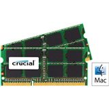 16GB Crucial Memory for Mac DDR3-1600 SO-DIMM CL11 Dual Kit