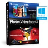 Corel Photo & Video X5 32/64 Bit Deutsch Grafik FPP PC (DVD)