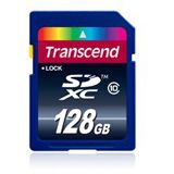 128 GB Transcend Ultimate SDXC Class 10 Bulk