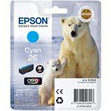 Epson Tinte C13T26124010 cyan