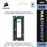 8GB Corsair Mac Memory DDR3-1600 SO-DIMM CL11 Single