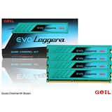 16GB GeIL EVO Leggera DDR3-1600 DIMM CL9 Quad Kit