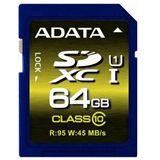 64 GB ADATA Premier Pro UHS-I U1 SDXC Class 10 Retail
