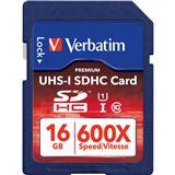 16 GB Verbatim UHS1 SDHC Class 10 Bulk
