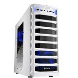 Sharkoon REX 8 Value mit Sichtfenster Midi Tower ohne Netzteil weiss