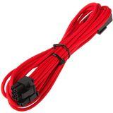 BitFenix 45cm rot/schwarze Verlängerung für PCIe