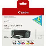Canon Tinte PGI-72MP Multipack 6402B009 schwarz matt, cyan ,magenta,