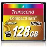 128 GB Transcend Compact Flash TypI 1000x Retail