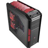 AeroCool XPredator X3 Devil Red Edition Midi Tower ohne Netzteil schwarz/rot