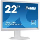 """22"""" (55,88cm) iiyama ProLite B2280WSD-W1 Weiß 1680x1050"""