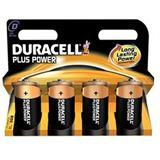 Duracell Plus Power LR20 Alkaline D Mono Batterie 1.5 V 4er Pack