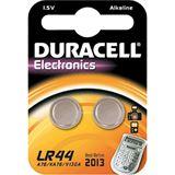 Duracell LR44 Alkaline Knopfzellen Batterie 1.5 V 2er Pack