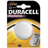 Duracell CR2430 Lithium Knopfzellen Batterie 3.0 V 1er Pack