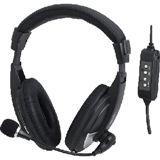 LogiLink Stereo Headset High Quality schwarz