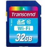 32 GB Transcend Wi-Fi SD Card SDHC Class 10 Bulk