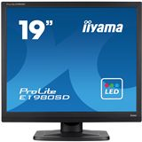 "19"" (48,26cm) iiyama ProLite E1980SD-B1 schwarz 1280x1024 1xVGA / 1xDVI"