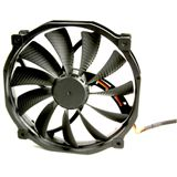 Scythe Glide Stream 140 140x140x25mm 500-1300 U/min 13-30.7 dB(A) schwarz