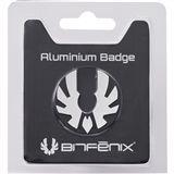 BitFenix Aluminium Badge silber Gehäuse für Prodigy
