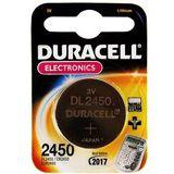 Duracell Electronics CR2450 Professional Electronics Lithium 3.0 V