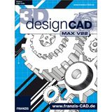 Franzis Design CAD V22 3D Max 32/64 Bit Deutsch Grafik Vollversion PC (CD)