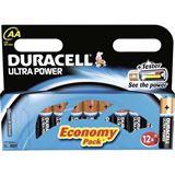Duracell Ultra Power LR6 Alkaline AA Mignon Batterie 1.5 V 12er Pack